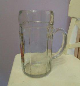 Кружка пивная 1 литр