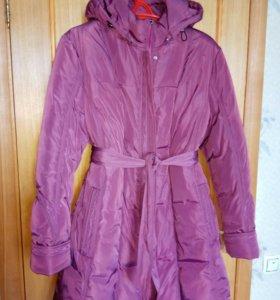 Пальто-куртка зимнее (торг)