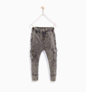 Новые брюки zara 140