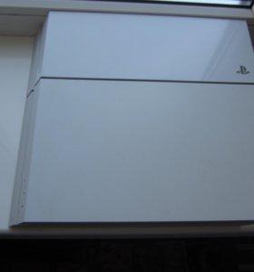 PS4 500 GB white+1 игра