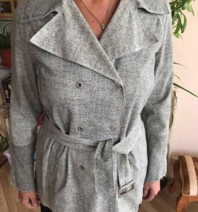 Куртка Армани женская из натуральной кожи р 46-48