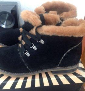 Новые теплые зимние ботинки Sabinari
