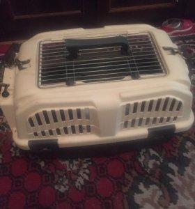 Клетка переноска для кошек и собак