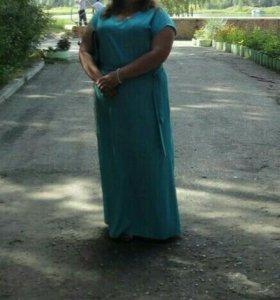 Платье в пол. Р.54-56