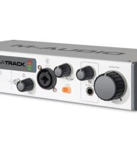 Звуковая карта m audio m track 2