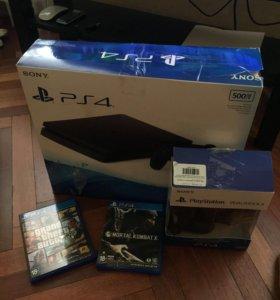 PlayStation 4 + 2 Dualshock