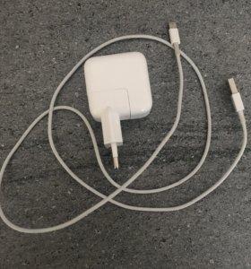 Зарядное устройство (кабель и адаптер) для Apple