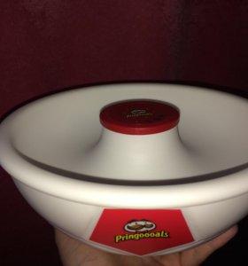 Новая миска-кричалка Pringles, Pringoooals