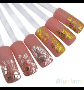 Наклейки для дизайна ногтей 3D
