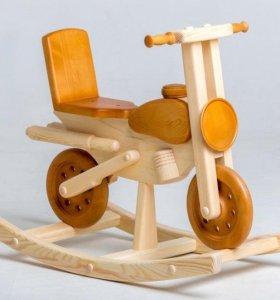 Качалка-мотоцикл
