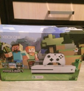 Xbox One S 500gb новая
