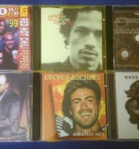 CD диски музыкальные. Лицензия