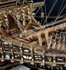 """Модель корабля """"Повелитель морей"""""""