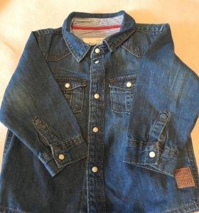 Джинсовая рубашечка H&M для мальчика