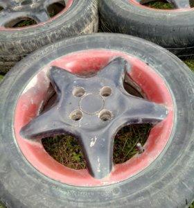 диски литые крашенные