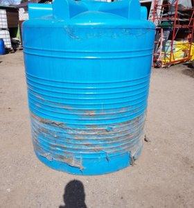 Ёмкость для воды пищевая 2000 литров