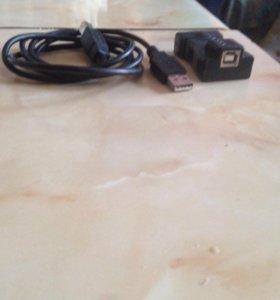 Переходник COM (RS232) - USB