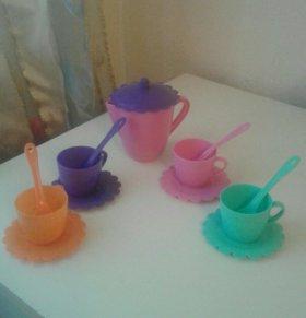 Набор новой детской посуды
