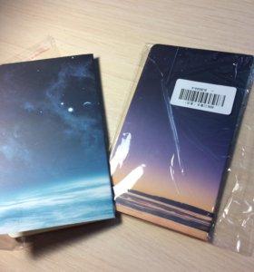 Новые блокноты в упаковке