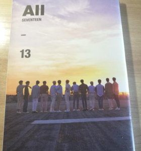 """K-pop seventeen 4th mini album """"Al1"""""""