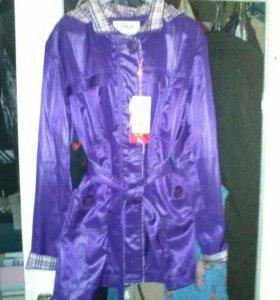 Новая куртка ветряк 46 размер