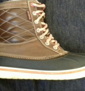 Ботинки Crocs w8 37,5-38 зимние