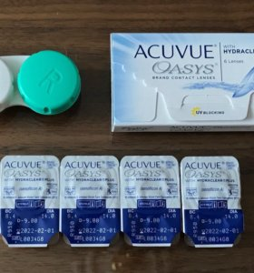 Контактные линзы Acuvue Oasys -9.0