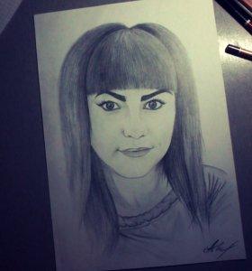 Рисование портретов по фото