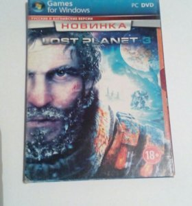 Диск Игры. LOST PLANET 3