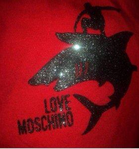 "Футболка "" moschino love"""