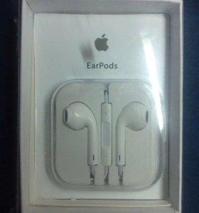 Наушники Айфон (iPhone),iPad, Ear pods