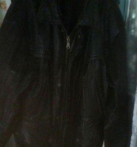 Куртка,чистая кожа.50_52р