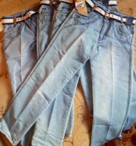 Джинсы-брюки новые