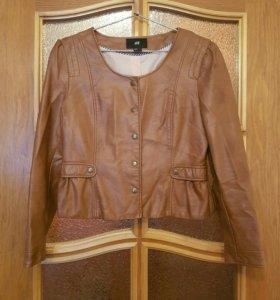 Куртка из кож.зама H&M