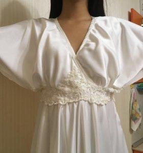 Новое платье из итальянского шёлка