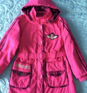 Куртка на девочку 9-11 лет