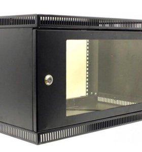 Телекоммуникационный шкаф настенный черный