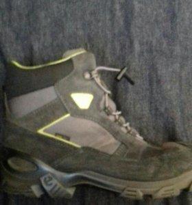 Ботинки зимние Ecco м. 40 на 39 размер