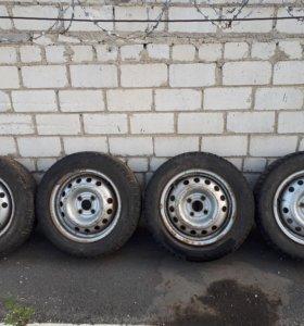 Комплект готовых колес R14(поставил и поехал)