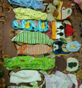 Вещи пакетом на новорожденого
