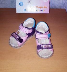 ортопедические сандали 18р