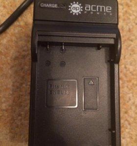 Зарядка для аккумулятора для фотоаппарата