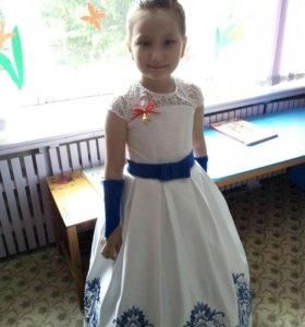 Шикарное платье принцессы!!!