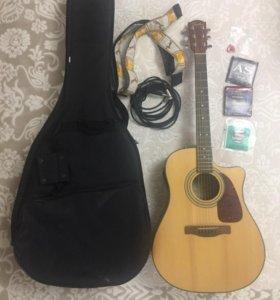 Электроакустическая Fender CD-140SCE NAT + усилок