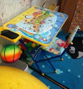 Стол и стул детский (комплект)
