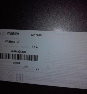 Телевизор LG 47LB650V