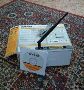 Tenda 150mbps wireless N ADSL 2×+ modem router