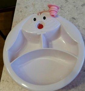 Термо тарелка для малыша