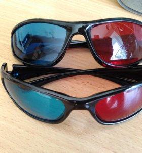 Продам 3D очки