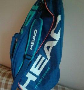 Теннисная сумка на 9 ракеток